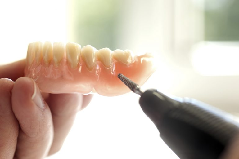 入れ歯の調理
